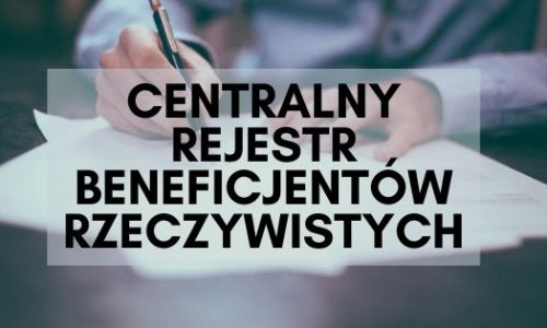 centralny rejest beneficjentów rzeczywistych